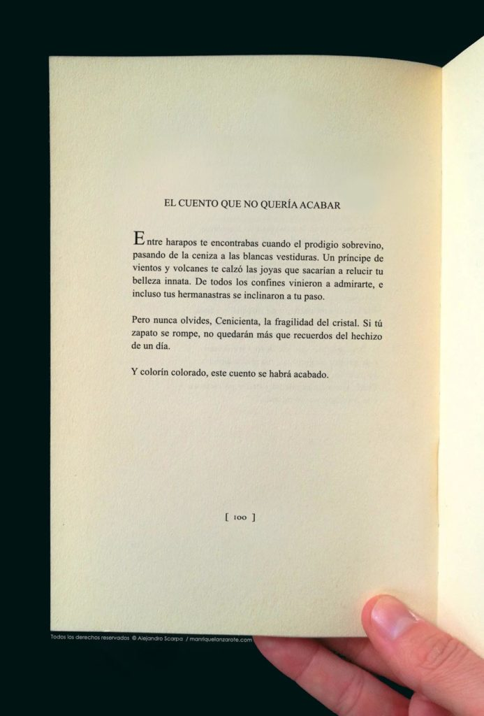 Cuento Lanzarote Manrique Scarpa